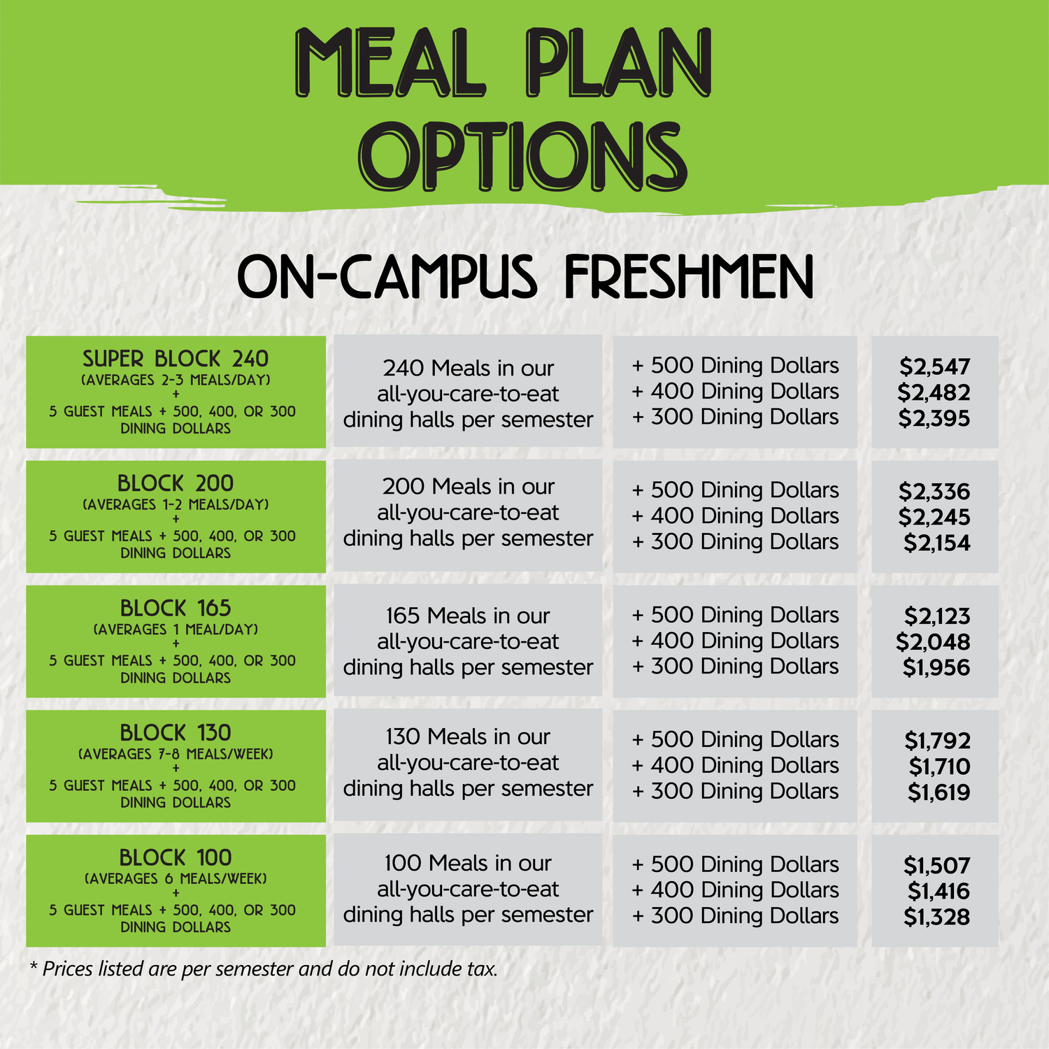 Dine On Campus at Texas A&M University || On Campus Freshmen